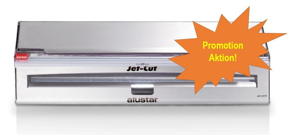 Jet-Cut Inox Kombi-Dispenser 45cm PCV+ALU Promotion Aktion!