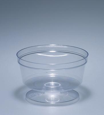Coupeschale 180gr glasklar PS, gespritzt