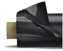 Lackfolie schwarz 30x1.3m (Länge = 2x15m)