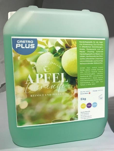 Seifencrème Apfel, grün 5lt