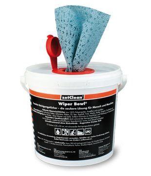 Wiper Bowl Feucht- Reinigungstücher, 25x25 cm