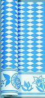 Dunicel Tischdeckenrolle 0.9x40m Bayrische Raute